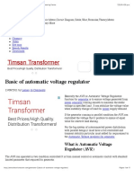 Basic of Automatic Voltage Regulator - Electrical Engineering Centre