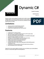 Dynamic C# User Guide