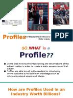 english presentation on profiles