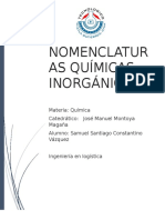 nomenclaturas quimicas inorganicas