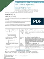 orji ccs campus metric form