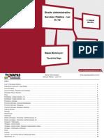 Mapas e Esquema ServidorPublico - Direito Adm