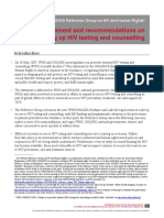StatementHIV-tes&Counseling