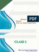 TEMA Nº 1 Fisicoquimica I - Qmc 206-CLASE 2-2017