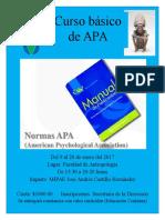 Cartel APA Propuesta Maestria