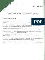 Héctor Silva. Balances de Materia y Energía. Capítulo II