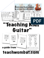 Teaching Kids Guitar