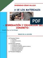 _segregacion y Exudacion