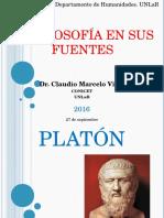 La Filosofía en Sus Fuentes. Clase Platón