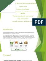 Principio 7, quimica verde