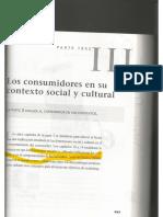 Capítulo 10 _Los Consumidores en Su Contexto Social y Cultural_. Comportamiento Del Consumidor.