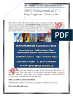 MAHATRANSCO Recruitment 2017  Superintending Engineer, Executive Director, etc.pdf