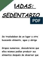 Vocabulario Tematicos Nomadas y Sedentarios