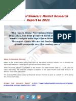 Professional Skincare Market Analysis
