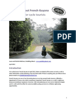 Pedalling About French Guyana Information for Cycle Tourists