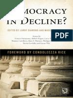 (a Journal of Democracy Book) Larry Diamond, Marc F. Plattner (Eds.)-Democracy in Decline_-Johns Hopkins University Press (2015)