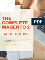 The Complete Magento 2 Basic Course - Open your first online shop from A to Z