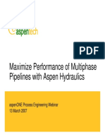 Maximize Performance of Multiphase Pipelines