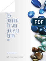 CA Tax Planning for and Your Family 2017