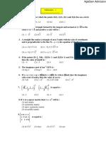 SRMEEE Model Paper for Mathematics (3)