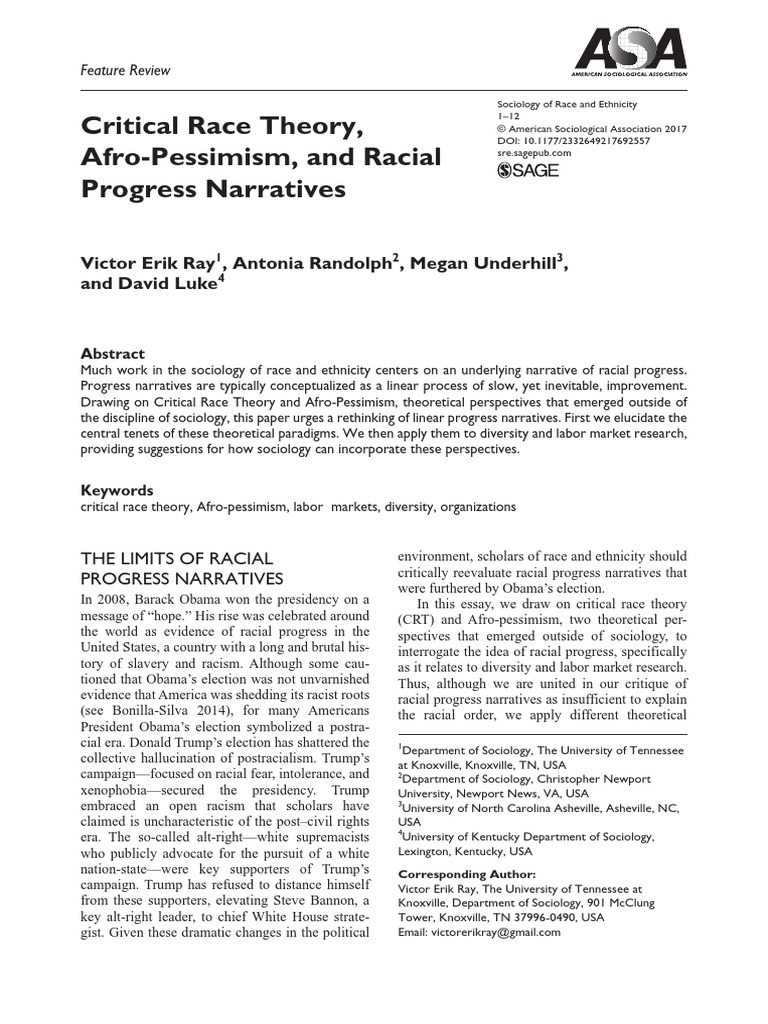 Critical_Race_Theory_Afropessimism and the Narrative of ...