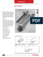 Dg Immersion Heaters Flanged