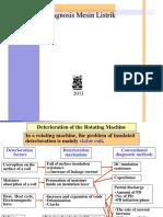 Diagnosis Mesin Listrik Kuliah 2011