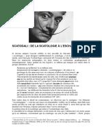 Scatologie a La Escatologie (Henri Behar)