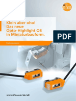 Das neue Opto-Highlight O8 in Miniaturbauform