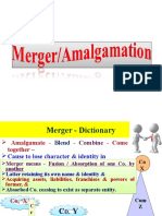 3. Merger & Types of Merger