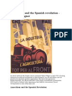Anarchism and the Spanish Revolution