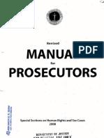 DOJ-NPS Manual for Prosecutors 2008