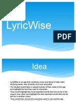lyricwise 2