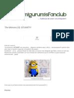 AmigurumisFanClub_ the Minions (II)_ STUART!!!