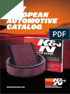 K/&N Luftfilter Volvo V 70 II 2.4D 33-2972