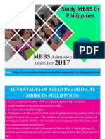 MBBS in Philippines for Indian Students