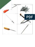 Clasificación de armas (punzantes, cortantes, punzocortantes y cortocontundentes).docx