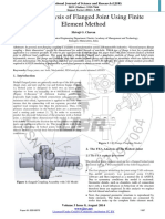 FEA - Flange Joint