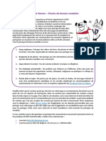BH - Charte de Bonne Conduite FR