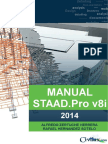 01 STAAD.pro V8i Manual 2014 Part 1