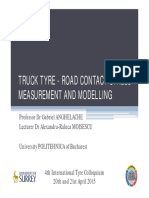Tp7.1_truck Tyre - Road Contact Stress Measurement and Modelling_anghelache_moisescu