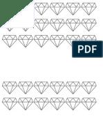 Diamond Cake Toper Shapes