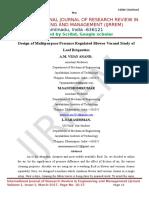 Design of Multipurpose Pressure Regulated Blower Vacand Study of Leaf Briquettes