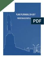 Ppa_2014-2017-Quarta_atualizacao Plano Plurianual Porto Alegre