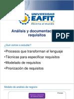 5. Análisis y Documentación de Requisitos