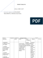 Proiect Didactic- Pacurar Emanuela