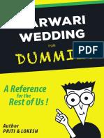 Marwari Wedding for Dummies
