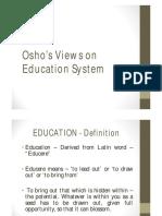 Osho and Montessori