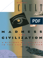 Foucault Michel - Madness and Civilization - A History of Insanity in the Age of Reason