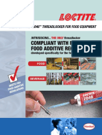 Food & Beverage Loctite® 2046™ Threadlocker Sell Sheet